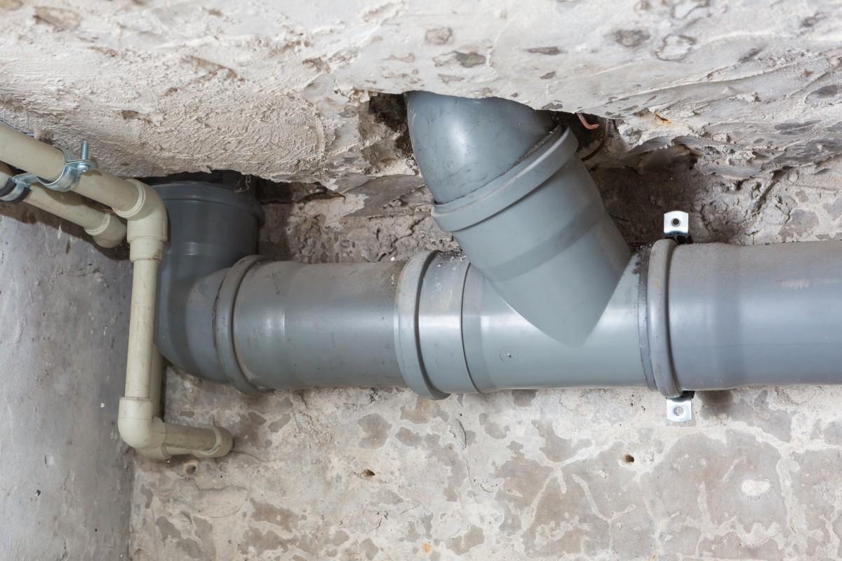 rura instalacji kanalizacyjnej